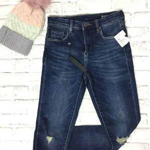 Blank NYC mid-rise skinny jeans NWT 26